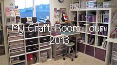 my purpley life craft room tour 2013 youtube