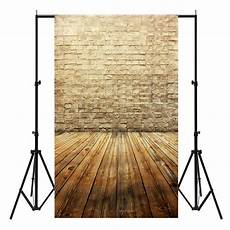 3x5ft Easter Wall Wooden Floor Vinyl by Backdrops 3x5ft Vinyl Brown Brick Wall Wood Floor