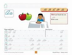 abeka cursive handwriting worksheets 21966 writing with phonics 2 cursive phonics kindergarten writing cursive