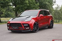 Official Mansory Porsche Cayenne Turbo And S  GTspirit