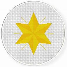 free cross stitch patterns stars charts club members only six corner star cross stitch pattern daily cross stitch