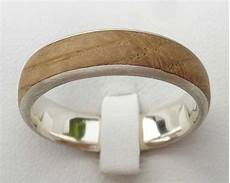 handmade wooden inlay silver ring love2have in the uk