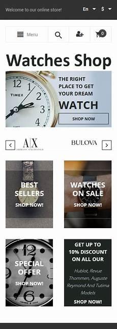 watch shop magento theme