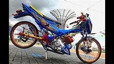 Modifikasi Motor Satria F by Modifikasi Satria Fu 150cc Jari Jari Dan Biaya Terjangkau