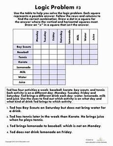 logic puzzle worksheets 5th grade 10845 logic problem 3 math logic puzzles logic problems maths puzzles