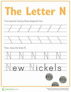 free letter n tracing worksheets 24168 pin by allbusinesstemplates on templates lettering preschool writing writing practice