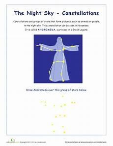 stargazing 20 constellation worksheets education