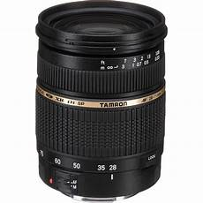 tamron sp 28 75mm f 2 8 xr di for canon ef af09c 700 b h photo