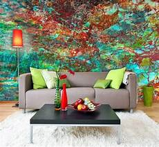 designer wall murals 15 living rooms with interesting mural wallpapers home