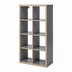 Kallax Shelf Unit Gray Wood Effect Ikea