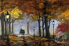 autumn painting by rick fitzsimons