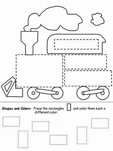 shapes worksheet easy 1097 tracing simple shapes squares ot worksheets creative raising and coloring