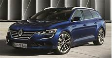 renault talisman estate revealed new lucky charm