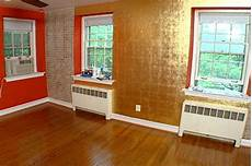 paint color for gold accents how to gold leaf accent wall hgtv