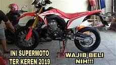 Modifikasi Crf 150 by Proses Modifikasi Crf 150 L Supermoto Eps 1