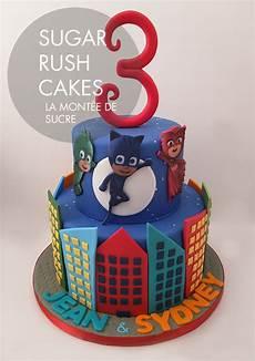 Malvorlagen Pj Masks Cake Pj Masks Cake Sugar Cakes Montreal