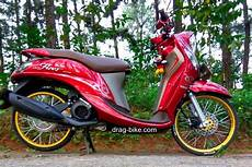 Modifikasi Motor Fino Standar by 42 Foto Gambar Modifikasi Fino Thailook Style Simple