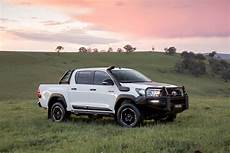 toyota hilux gets even more rugged with new trims