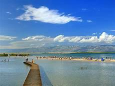 kroatien sandstrand cing beaches tourist board nin croatia