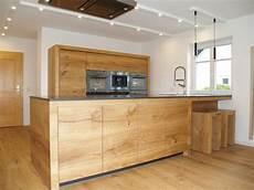 küche eiche modern massivholz k 252 che aus donau eiche schreinerk 252 che k 252 chen