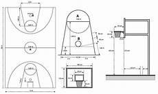 Gambar Ukuran Lapangan Basket Dan Ringnya Bola Basket