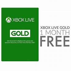 1 month of xbox live gold free for everyone