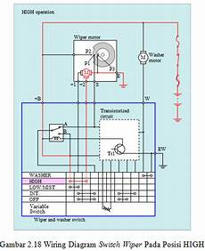 rangkaian instalasi listrik wiper petualangan dunia teknik