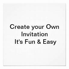 Create Your Own Wedding Invitations For Free wedding create your own invitation 5 25 quot square invitation