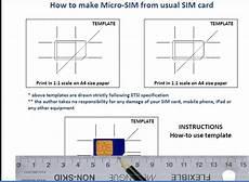 iphone 4 sim card cutting template iphone convert sim to micro sim