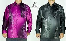 cy b083 kemeja batik lelaki shirt malaysia vintage satin