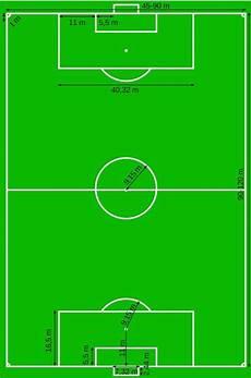 Gambar Dan Ukuran Lapangan Bola Kaki Berbagai Ukuran