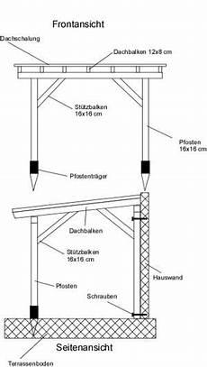 terrassenüberdachung selber bauen anleitung terrassenuberdachung holz bauplan bvrao