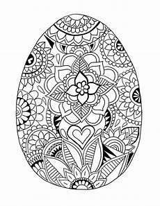 easter mandala coloring pages printable easter mandala