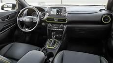 Hyundai Kona 2018 Abmessungen Kofferraum Und Innenraum