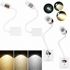 1 2 modern dimmable headboard reading light wall bed led ls ebay