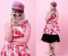 Fashion Rosey Kenzo By Qonitah Al Jundiah