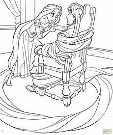 Disney Malvorlagen Rapunzel Disney Princess Coloring Pages Rapunzel And Flynn