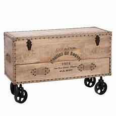 coffre de rangement en bois factory coffre achat