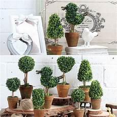 artificial potted plant plastic garden grass ball topiary tree pot home desk decor alexnld com