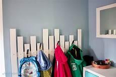 Diy Garderobe F 252 R Den Flur Selbstgebaute Gaderobe Ikea Hack
