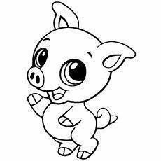 draw so animals coloring pages 17359 top 20 free printable pig coloring pages baby animal drawings zoo animal coloring