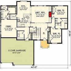 craftsman ranch house plans craftsman ranch home with video 89866ah architectural