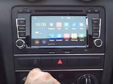 autoradio gps audi a3 autoradio android 5 1 gps audi a3 wifi dvd usb bluetooth autoradio android