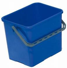 seau de menage seau chariot menage 6 litres bleu
