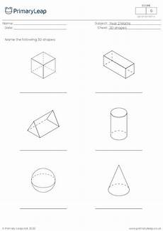 3d shapes worksheet early years 1107 numeracy 3d shapes worksheet primaryleap co uk