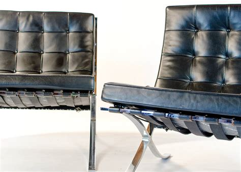Vintage Knoll Barcelona Chair By Mies Van Der Rohe For