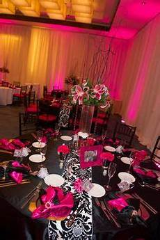 pink black and white wedding theme getting hitched goals pink wedding receptions