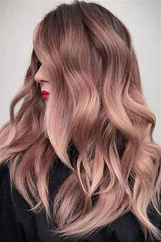 7 wonderful spring hair color rose gold get unique hair color