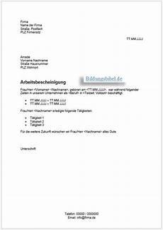 Frist Setzen Muster - 15 arbeitsbescheinigung muster doc templatez