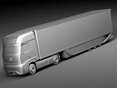 mercedes ft 2025 future truck with tr 3d max obj 3ds fbx c4d lwo lw lws cgtrader com